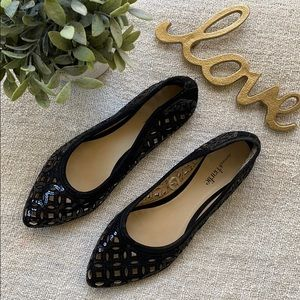 Charming Charlie Lasercut Sequin Flats
